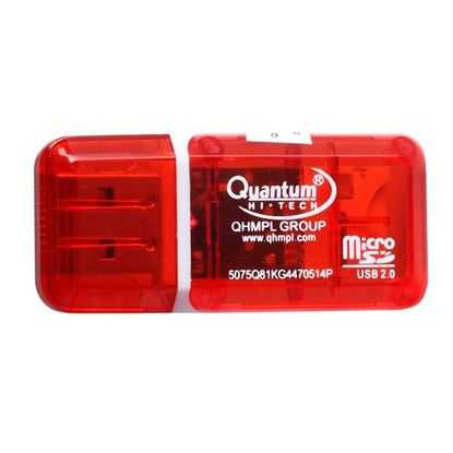 QHM 5075 USB TF CARD READER