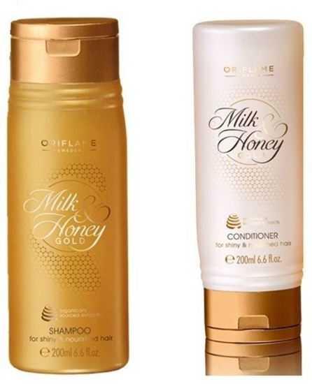 Alfa store oriflame sweden milk honey gold conditioner and oriflame sweden milk honey gold conditioner and shampoo set of 2 stopboris Gallery