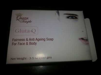 Picture of GlutaQ Glutathione Skin Whitening Soap