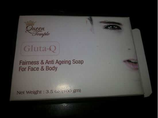 Picture of GlutaQ Glutathione Skin Whitening Soap