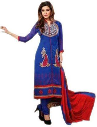 Picture of Women's Heavy Cotton Embroidery Suit