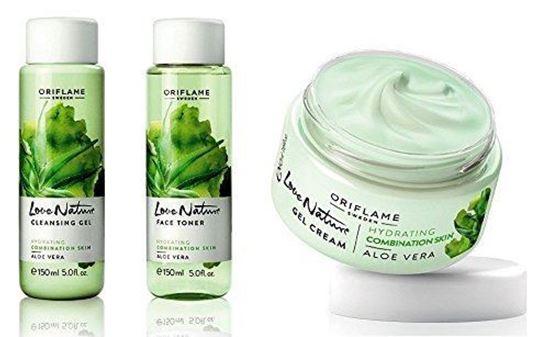 aloe vera gel cream for face