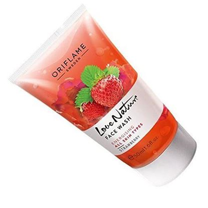 Picture of  Oriflame Love Nature Face Wash Strawberry