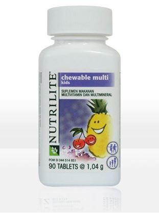 Picture of Amway Nutrilite Kids Calcium Magnesium Cocoa 100 N