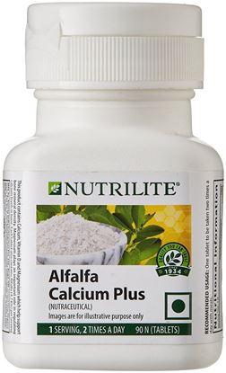 Picture of Amway Nutrilite Alfalfa Calcium Plus - 90 Tablets