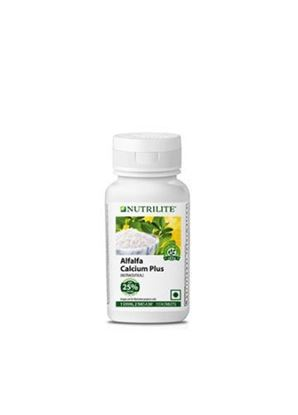 Picture of Amway Alfalfa calcium plus 113 tablets