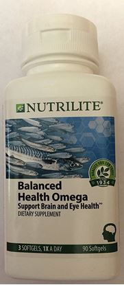 Picture of Amway Nutrilite Balanced Health Omega 90 Softgels