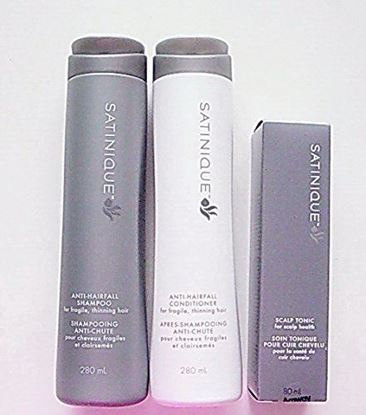 Picture of AMWAY ANTI-HAIRFALL SETS,Shampoo, Conditioner and Scalp Tonic