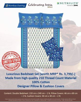 Picture of Amway  Bedsheet Pillow Covers Cushion Covers Set