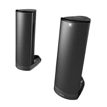 Picture of Dell AX210 Black USB Stereo 2.0 multimedia Speaker System