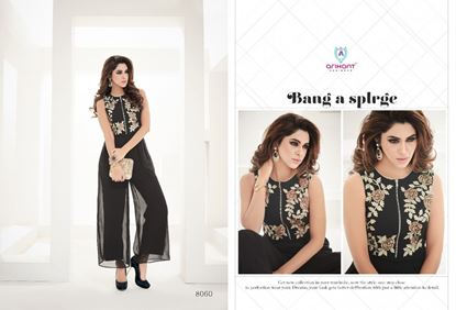 Picture of Black Arihant Designer Presents Kurti Series Hit