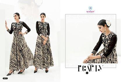 Picture of Black Arihant Designer Presents Kurti Series Hit