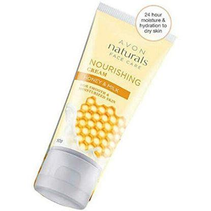 Picture of Avon naturals Honey and milk Nourishing face cream-50g