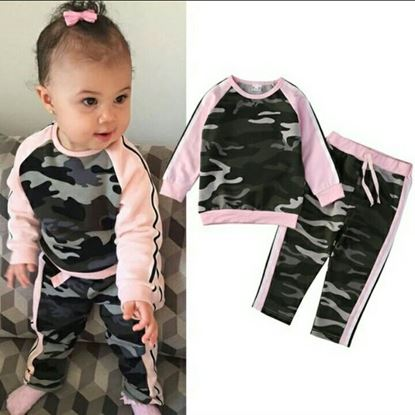 Picture of Army print dress for boys n girls