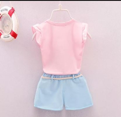 Picture of Cute casual set With belt for kids