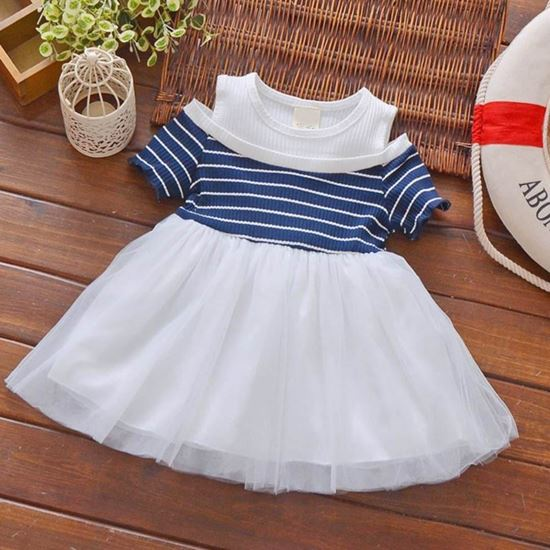 c0367aee65cfd S.K Mani Baby Girls Party Wear Frock Dress