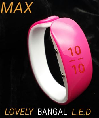 Picture of S.K Mani Bangel Style Digital Watch for Girls 1