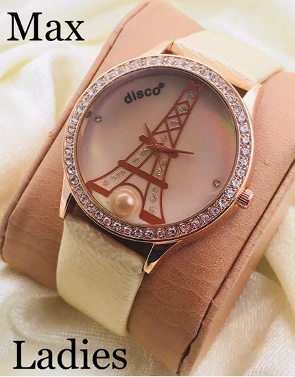 S K Mani Disco Fashion Fiber Watch for Women #2