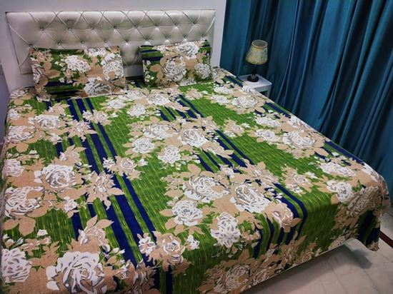 032008f33c Alfa Store. S.K Mani 100% COTTON BAJAJ CASEMENT DOUBLE BED SHEET SET 2