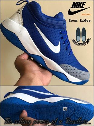 Picture of S.K Mani Men s NIKE ZOOM RIDER SHOES BLUE d6b2633a12c