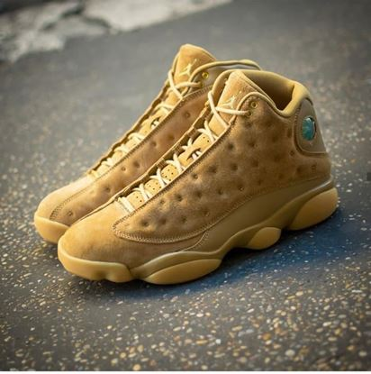 Picture of Aquarian new product Nike Jordan gold  Leather matty Casual Shoes