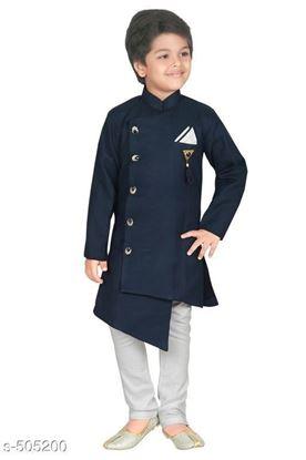 Picture of Aquarian new product Kid's Ethnic Fancy Kurta pyjama set*