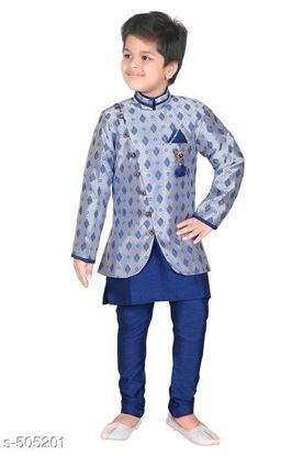 Picture of Aquarian new product Kid's Ethnic Fancy Kurta pyjama set**