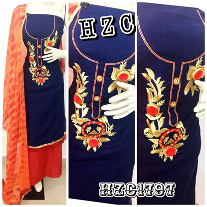Picture of AQUARIAN NEW PRODUCT HZC WOMWN'S Kurti WITH DUPPTA 1797,1800,2008