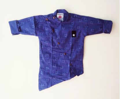 Picture of AQUARIAN NEW PRODUCT Boys' Plain Regular Fit Cotton Shirt*