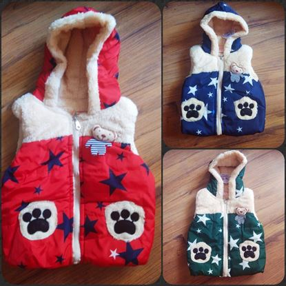 Picture of AQUARIAN Kids Baby Grils Boys Sleeveless Winter Warm Jacket
