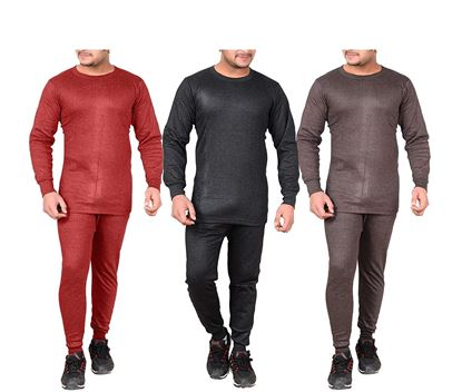 Picture of Combo Set Winter Wear Body Warmers for Men's (Pack of 3)