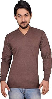 Picture of Alfa Men's Thermal Wear V Neck Top (Upper)