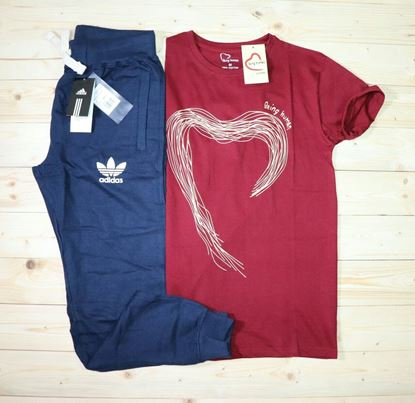 Picture of AQUARIAN ADIDAS T-shirt+Track pant*