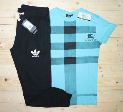 Picture of AQUARIAN ADIDAS T-shirt+Track pant**