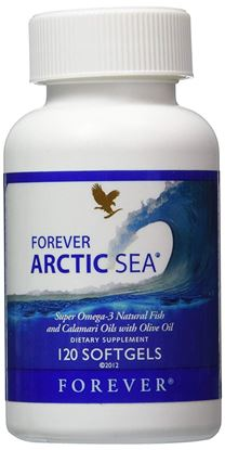 Picture of Forever Living Arctic-Sea Super Omega-3 Natural Fish Calamari Oils With Olive Oil