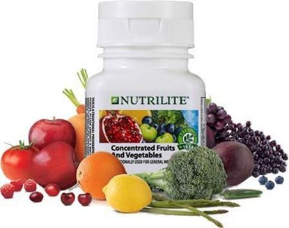 Picture of amway Concentrated Fruits and Vegetables (60N Tablets)