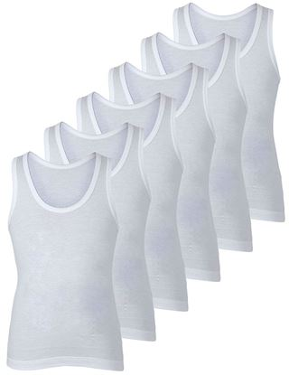 Picture of BODYCARE Boys Vest Pack of 6