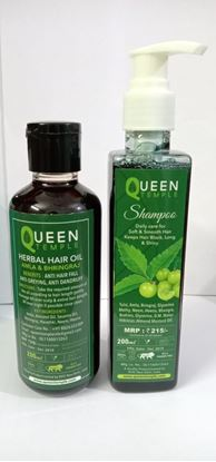 Picture of QUEEN TAMPLE HERBAL HAIR OIL