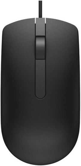 Picture of Dell MS 116 Wired Optical Mouse  (USB, Black)
