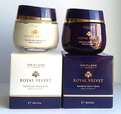 Picture of Oriflame Royal Velvet 40+ SET : Firming Day Cream SPF 15 + Repairing Night Cream by Oriflame