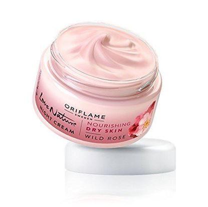 Picture of Oriflame Love Nature Night Cream Wild Rose