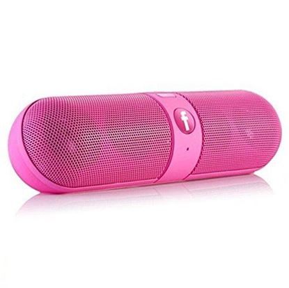 Picture of Mobile Link Capsule Bluetooth/Aux Cable Connectivity Multimedia Speaker Wireless Speaker (Pink)