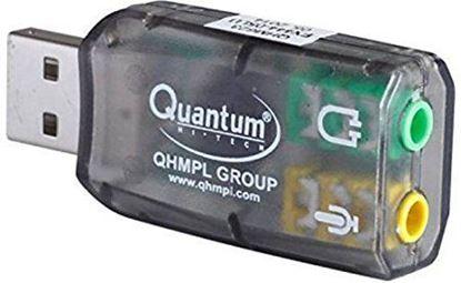 Picture of QUANTUM QHM623 USB SOUND CARD USB AUDIO CONTROLLER