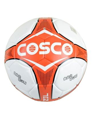 Picture of Cosco 14020 Brazil Foot Ball, Size 5 (Red)
