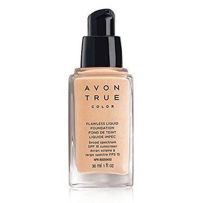 Picture of Avon True Color Flawless Liquid Foundation SPF15 30g (Cream Beige)