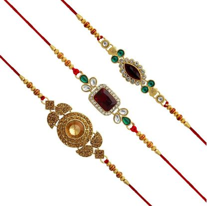 Picture of Kundan Rakhi