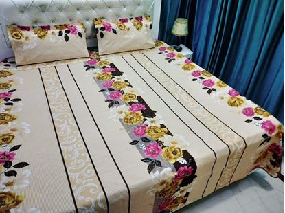 Picture of COTTON BED SHEET CREAM