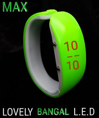 Picture of S.K Mani Bangel Style Digital Watch for Girls 2