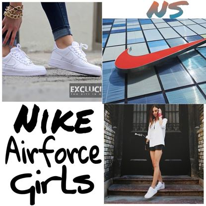Picture of S.K Mani Nike Airforce SHOES FOR Girls