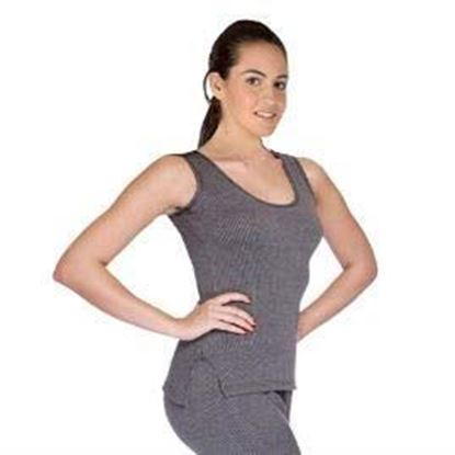 Picture of Ladies Quilted Thermal top SleevLess